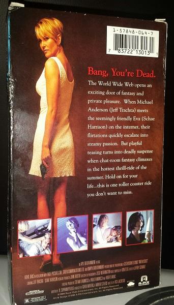 Interlocked VHS case