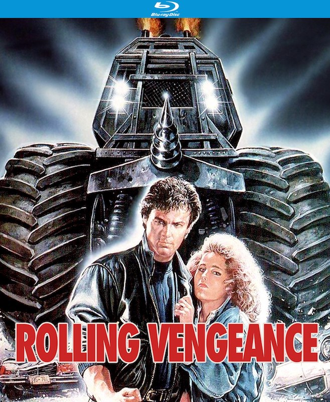 Rolling Vengeance Blu-ray cover