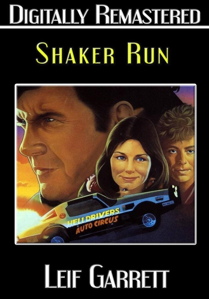 Shaker Run DVD cover