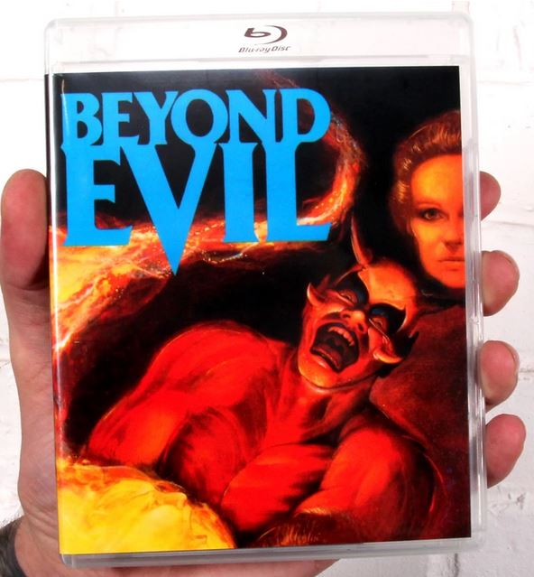 Beyond Evil Blu-ray DVD combo case