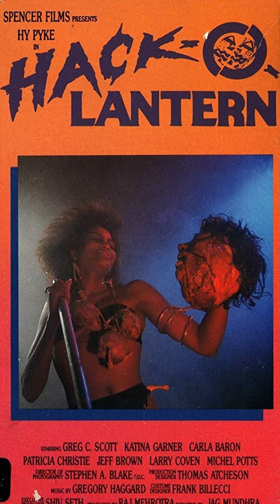 Hack-O-Lantern VHS cover