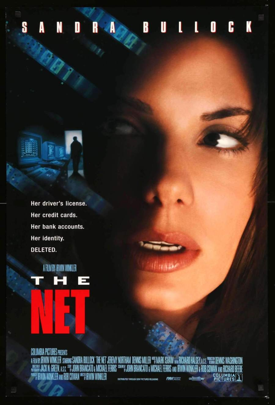 The Net 1995 poster